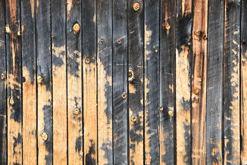 Textura de madera del viejo tablero del granero fotos de archivo libres de regalías