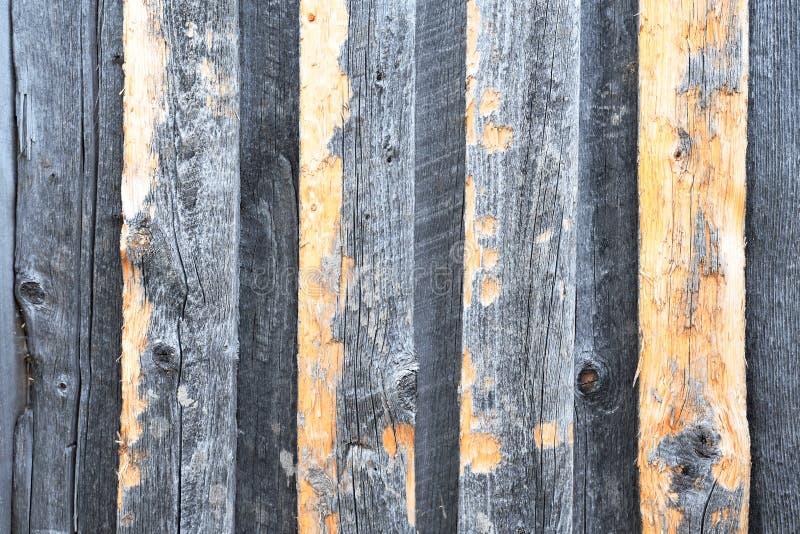 Textura de madera del viejo tablero del granero imagenes de archivo