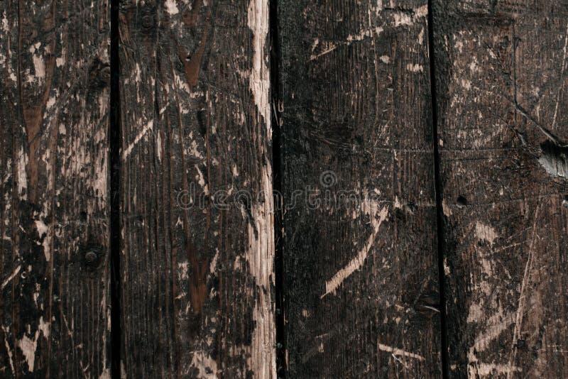Textura de madera - fondo del viejo tablero de madera foto de archivo libre de regalías