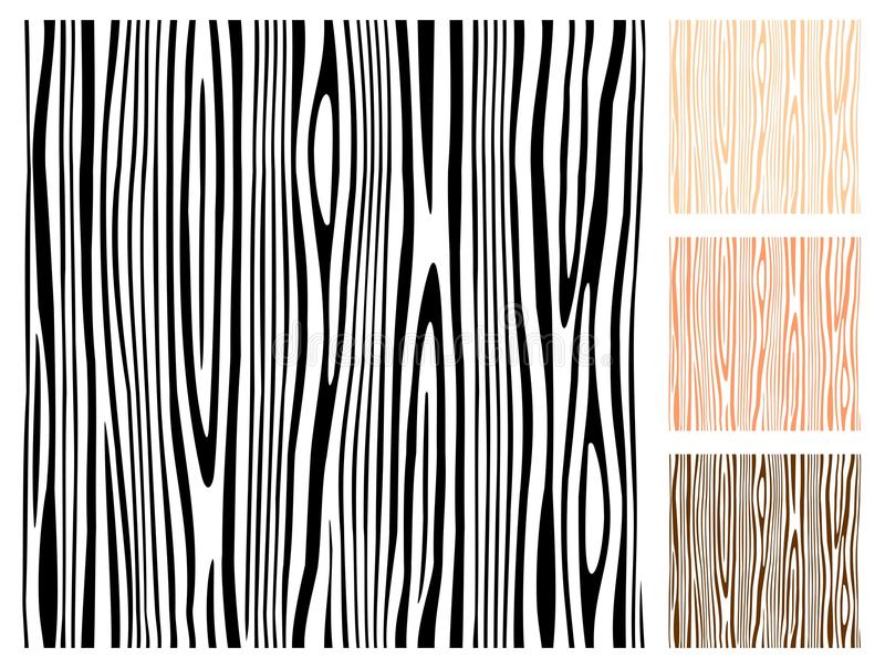 Textura de madera inconsútil ilustración del vector