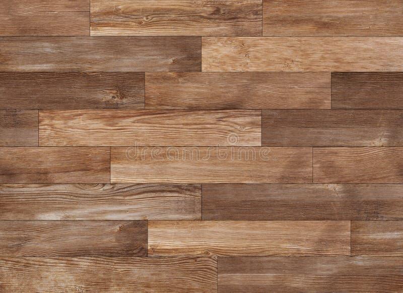 Textura de madera inconsútil, fondo de la textura del suelo de parqué fotos de archivo