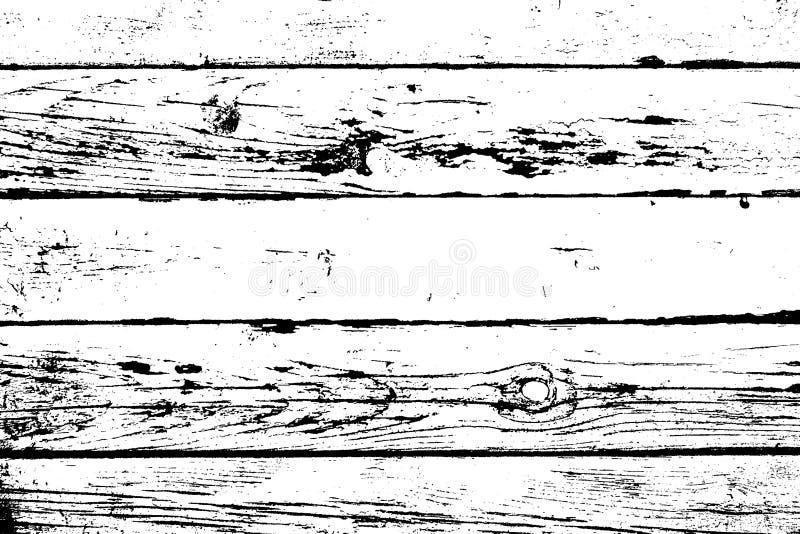 Textura de madera de la capa ilustración del vector