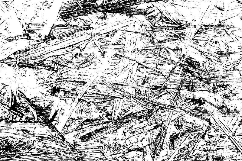 Textura de madera de la capa para su diseño CHips Texture de madera Ilustración del vector stock de ilustración