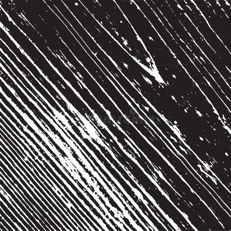Textura de madera de la desolaci?n ilustración del vector
