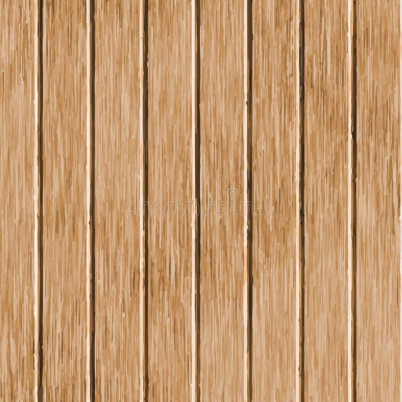 Textura de madera de la nuez Superficie de madera del tablero Modelo de madera del grunge abstracto Fondo de la ilustración del v libre illustration