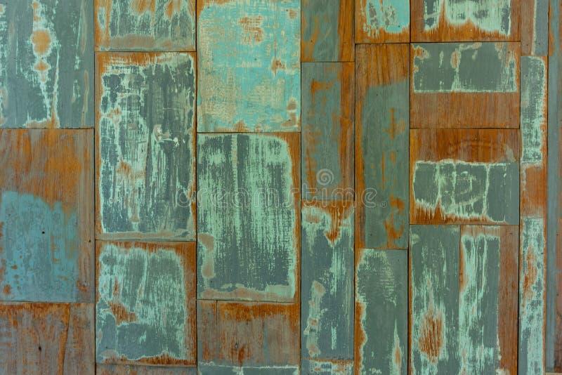 Textura de madera de la pared del tablón, uso como fondo fotos de archivo