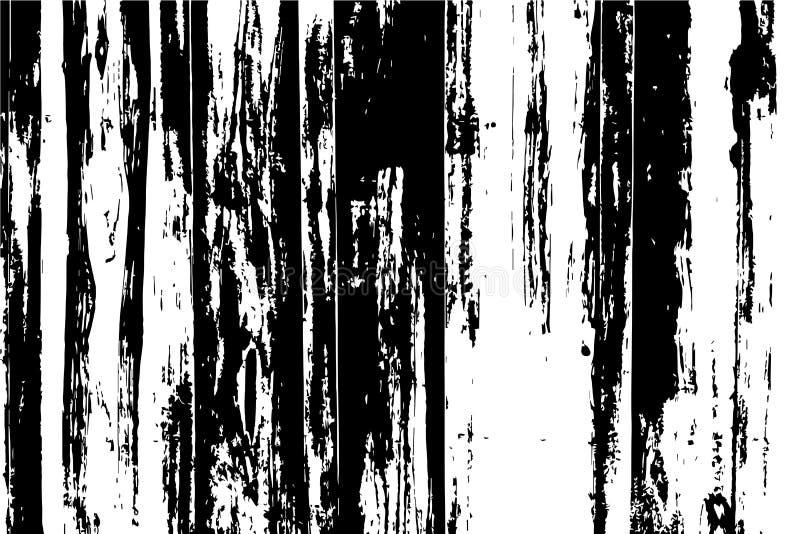 Textura de madera de la tabla con los tablones Ejemplo del vector de la madera en fondo transparente libre illustration