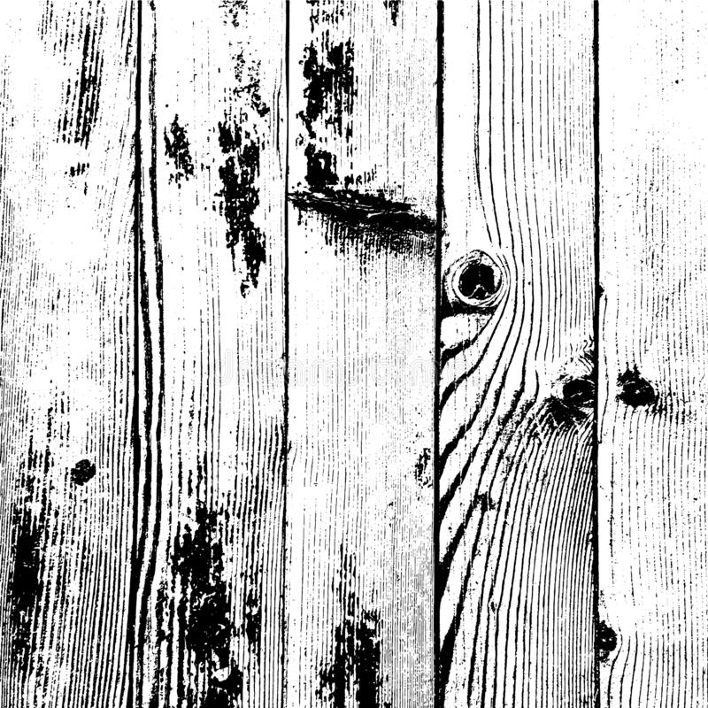 Textura de madera de los tablones libre illustration