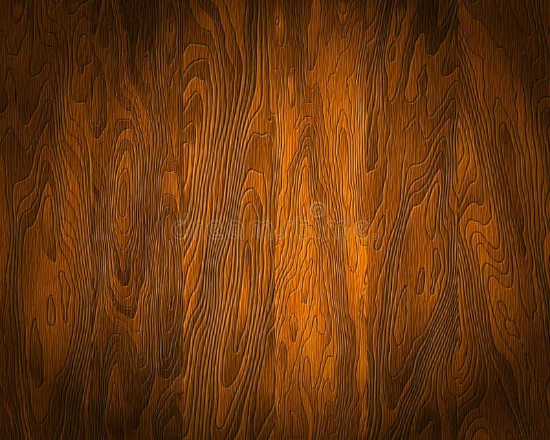Textura de madera natural stock de ilustración