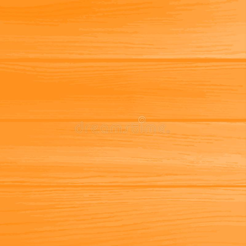 Textura de madera natural con los tablones horizontales ilustración del vector