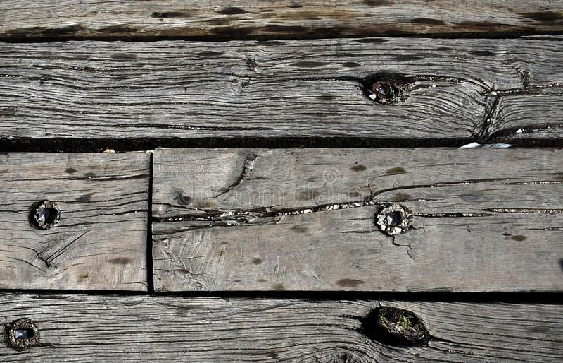 Textura de madera natural gris oscuro foto de archivo