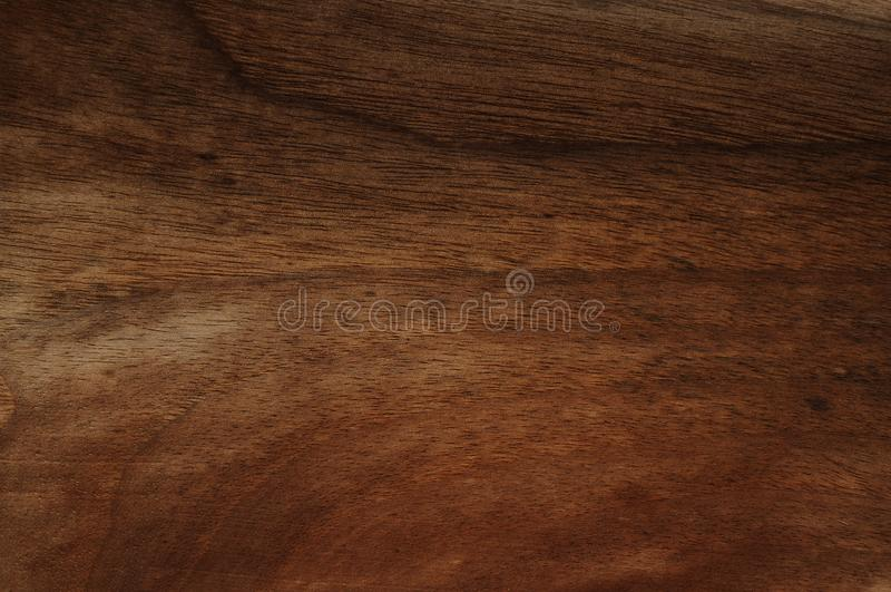 Textura de madera natural de la nuez oscura Textura de madera natural cepillada mano imagenes de archivo