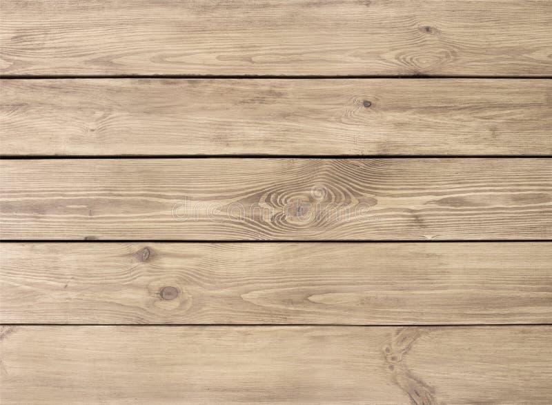 Textura de madera natural ligera del tablón de tableros fotos de archivo