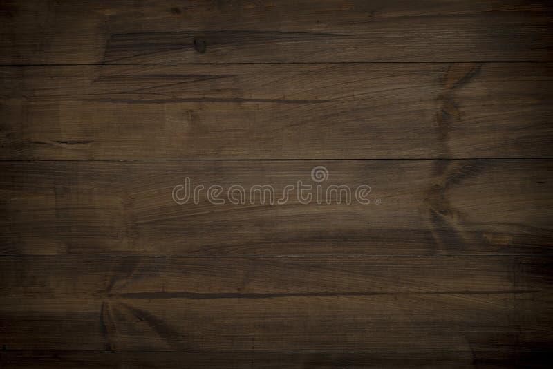 Textura de madera natural oscura de Brown imagen de archivo