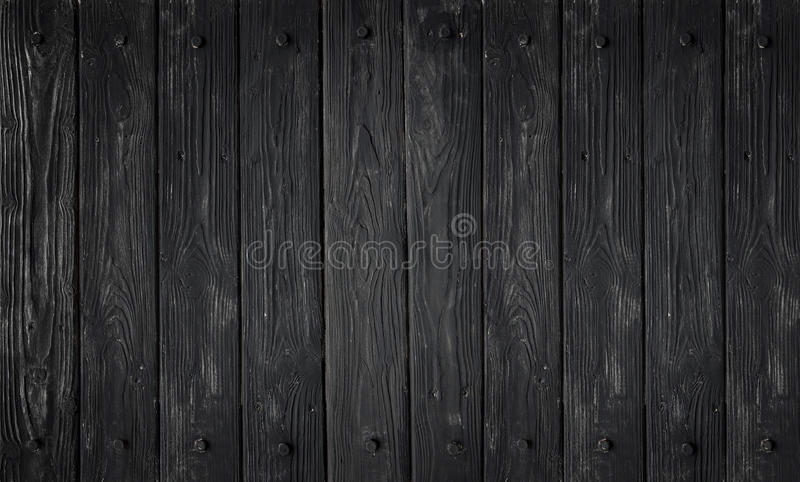 Textura de madera negra los paneles viejos del fondo fotografía de archivo libre de regalías