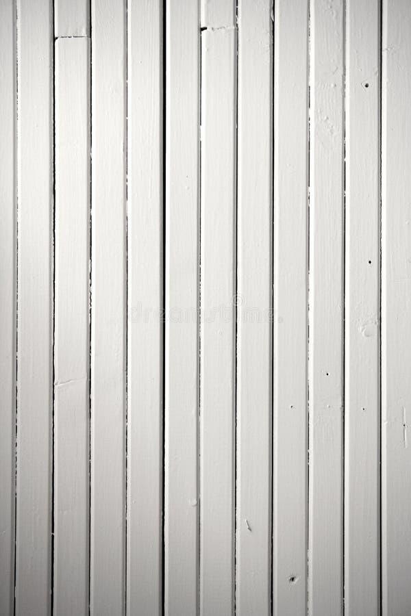 Textura de madera pintada blanca del fondo fotografía de archivo libre de regalías