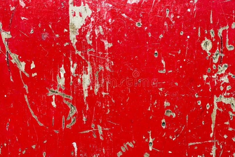 Textura de madera roja fotos de archivo