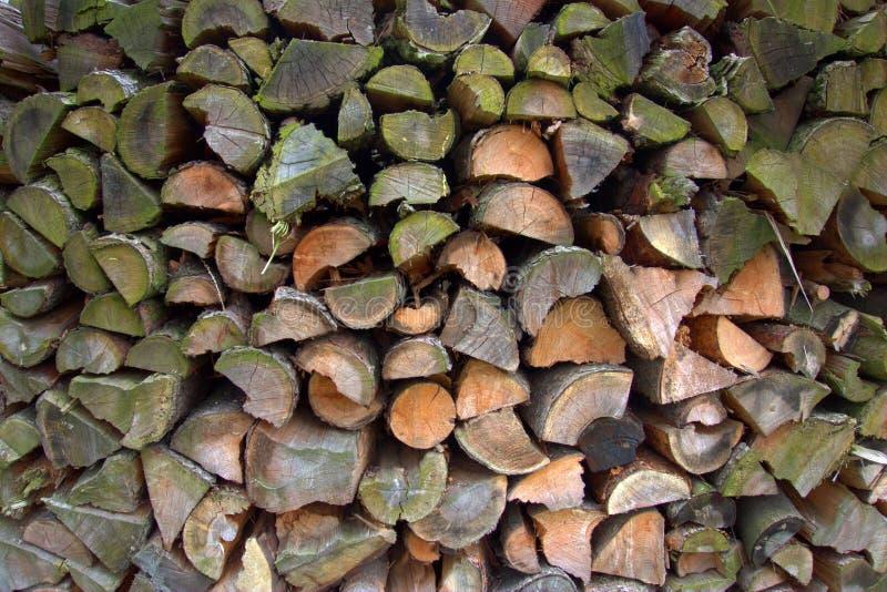 Textura de madera - secado de la madera imagenes de archivo