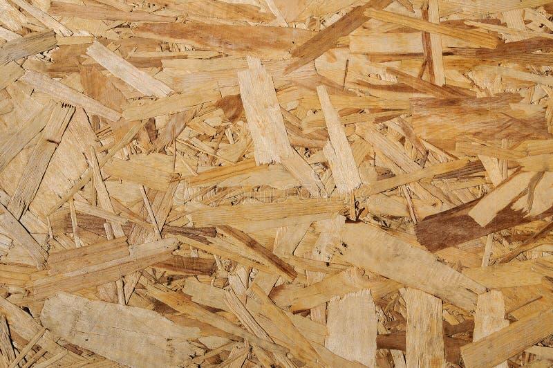 Textura de madera Tablero de madera de Osb para la decoración del fondo foto de archivo libre de regalías