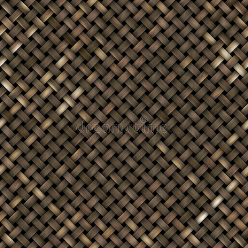 Textura de madera tejida stock de ilustración