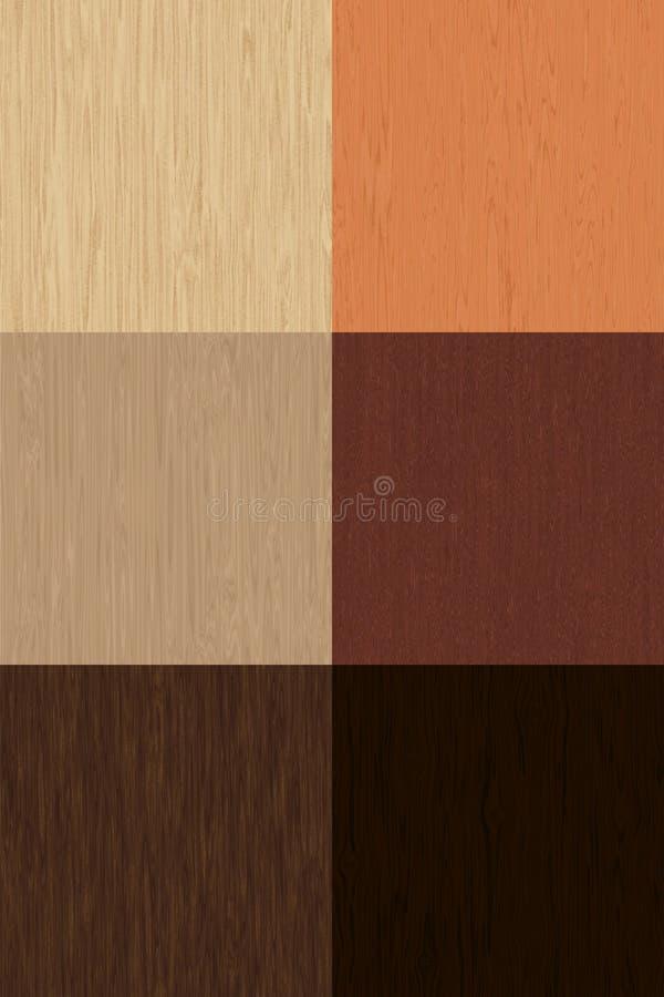 Textura de madera Vol.1 stock de ilustración
