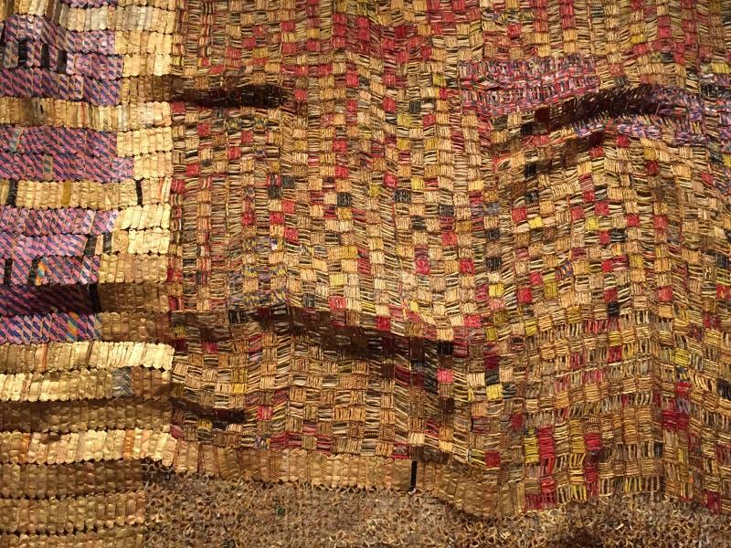 Textura de matéria têxtil com sugestão do fundo da cara imagem de stock royalty free