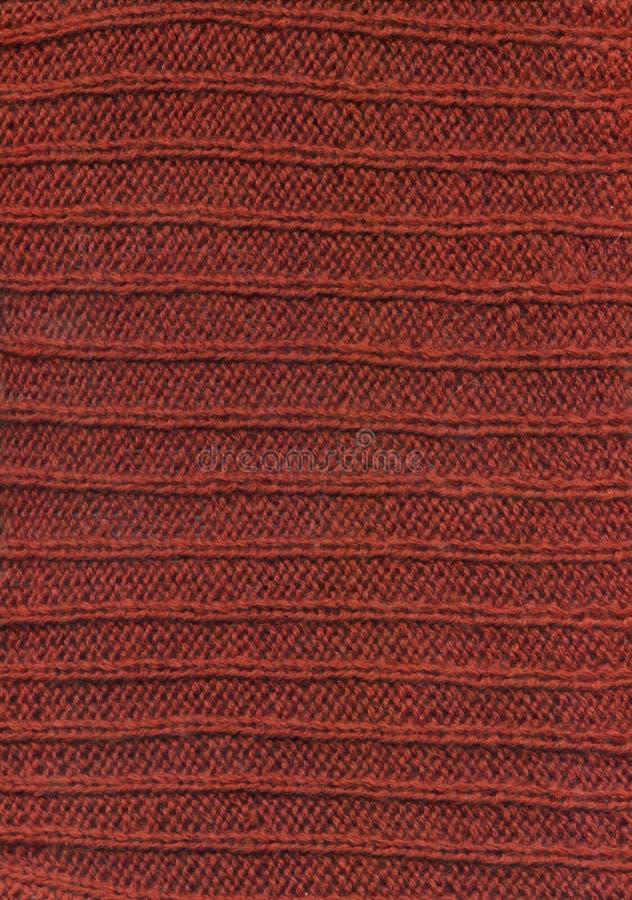 Textura de matéria têxtil da tela de lãs de Brown foto de stock royalty free