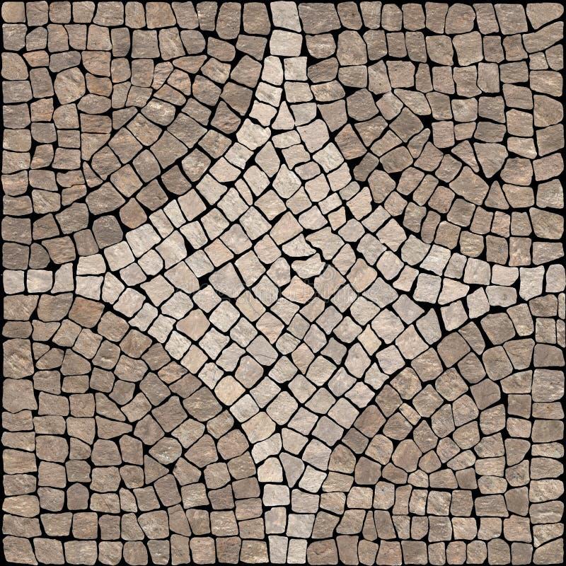 Textura de mosaico de pedra de Sardis. fotografia de stock