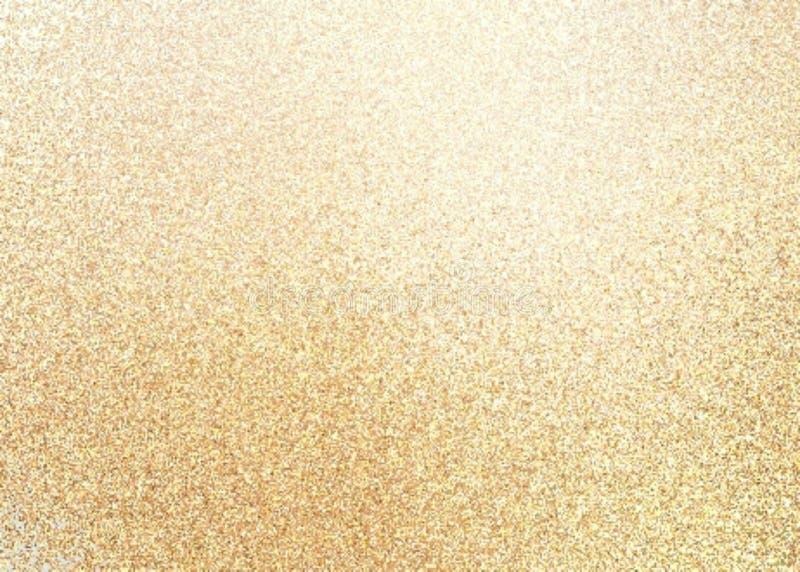 Textura de oro del extracto de la arena del reflejo foto de archivo libre de regalías