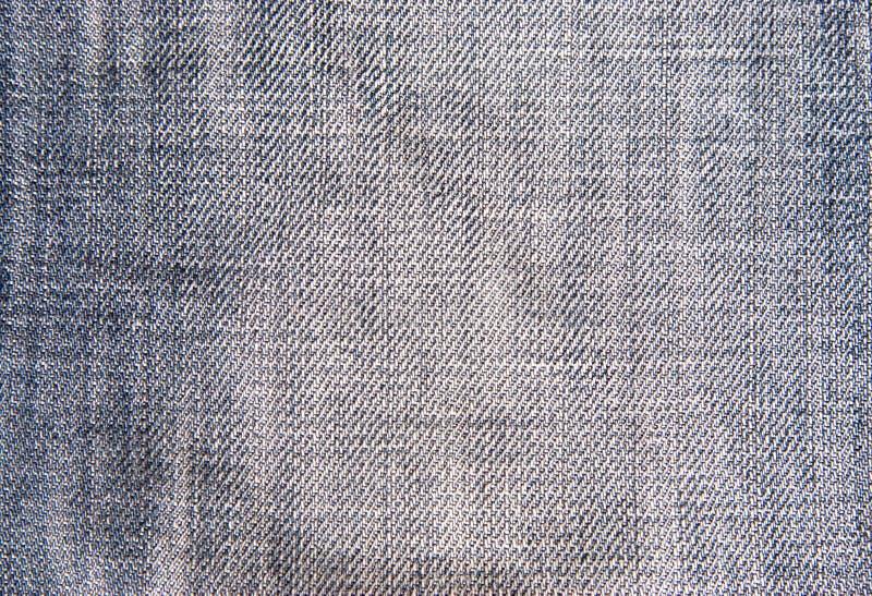 Textura de pano de Jean fotografia de stock