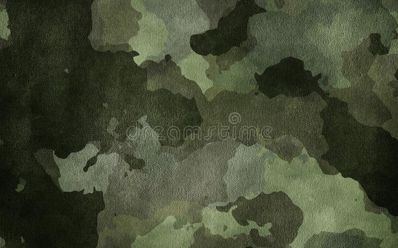 Textura de pano do teste padrão da camuflagem Fundo e textura para o projeto fotografia de stock royalty free