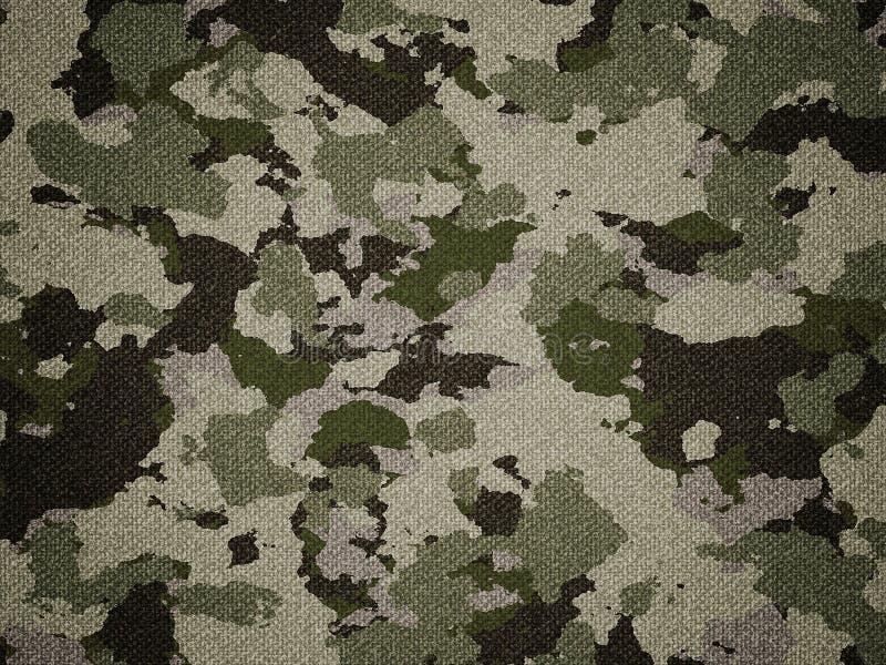 Textura de pano do teste padrão da camuflagem Fundo e textura para o projeto imagem de stock