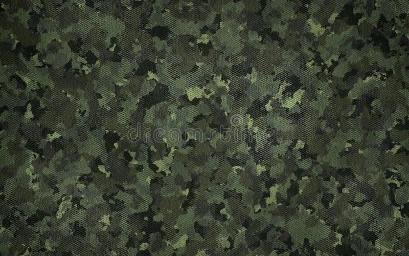 Textura de pano do teste padrão da camuflagem Fundo e textura para o projeto ilustração stock