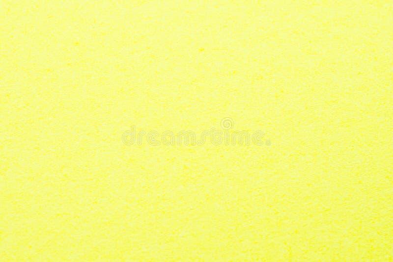 Textura de papel amarilla foto de archivo libre de regalías