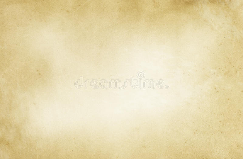 Textura de papel amarilleada envejecida libre illustration