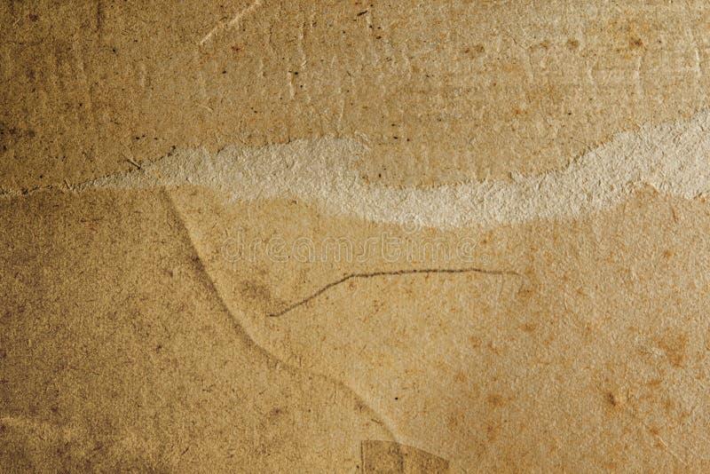 Textura (de papel) arrugada fotografía de archivo libre de regalías