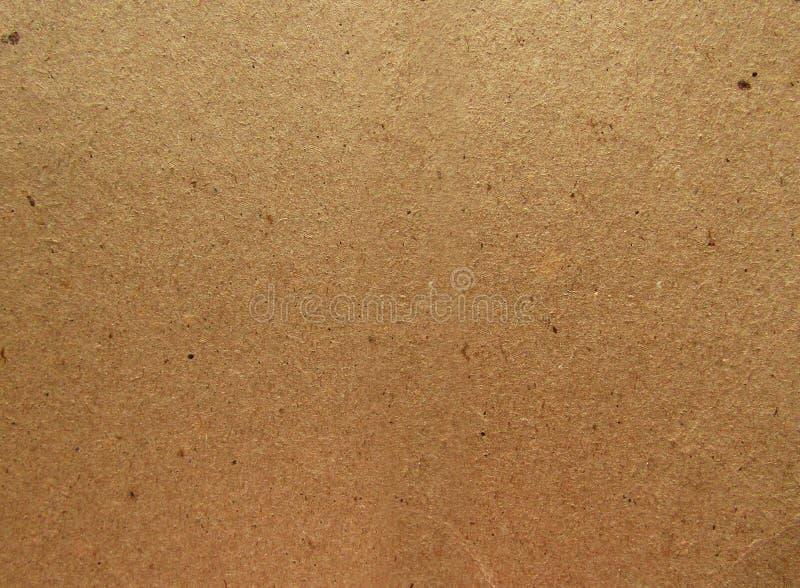 Textura (de papel) arrugada Fondo de Brown Kraft ilustración del vector