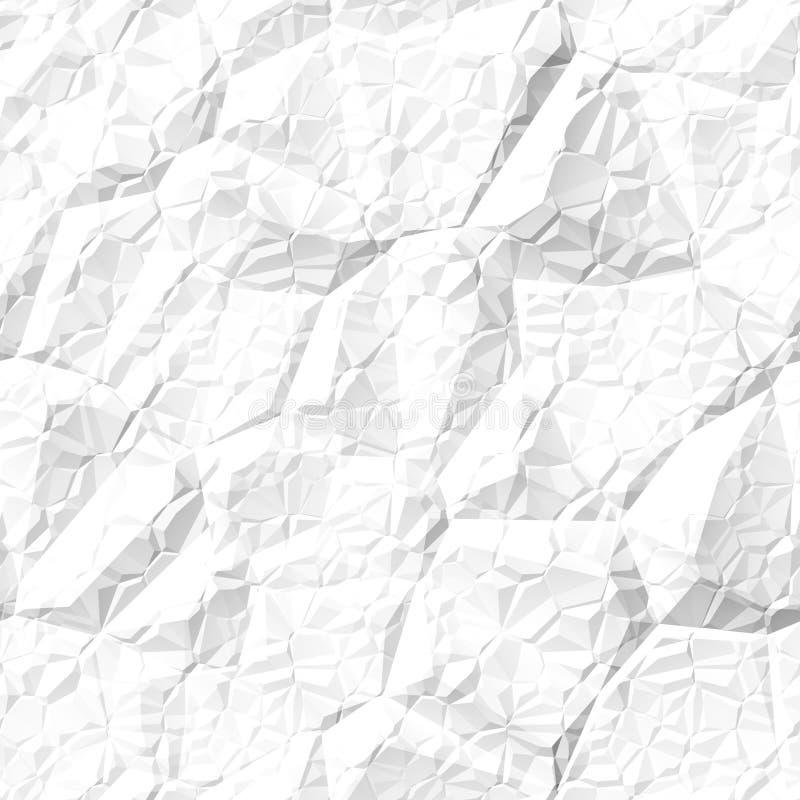 Textura de papel arrugada inconsútil libre illustration