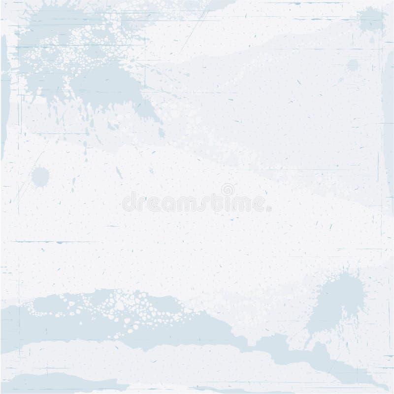 Textura de papel azul clara ilustración del vector