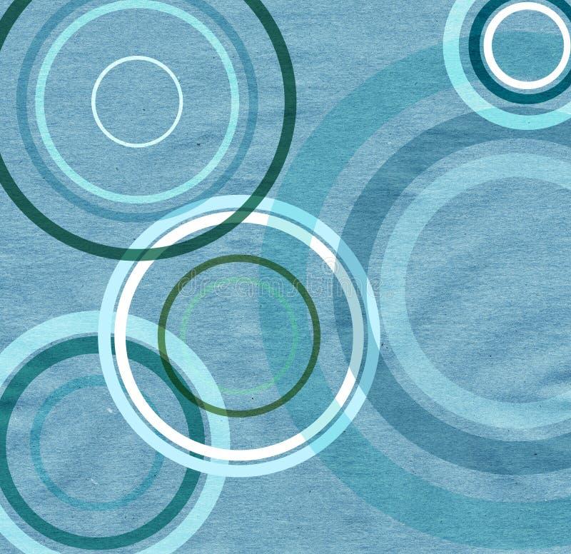 Textura de papel con los círculos libre illustration