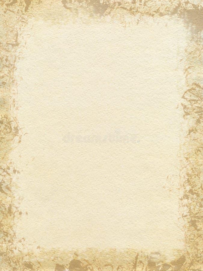 Textura de papel da aguarela ilustração do vetor