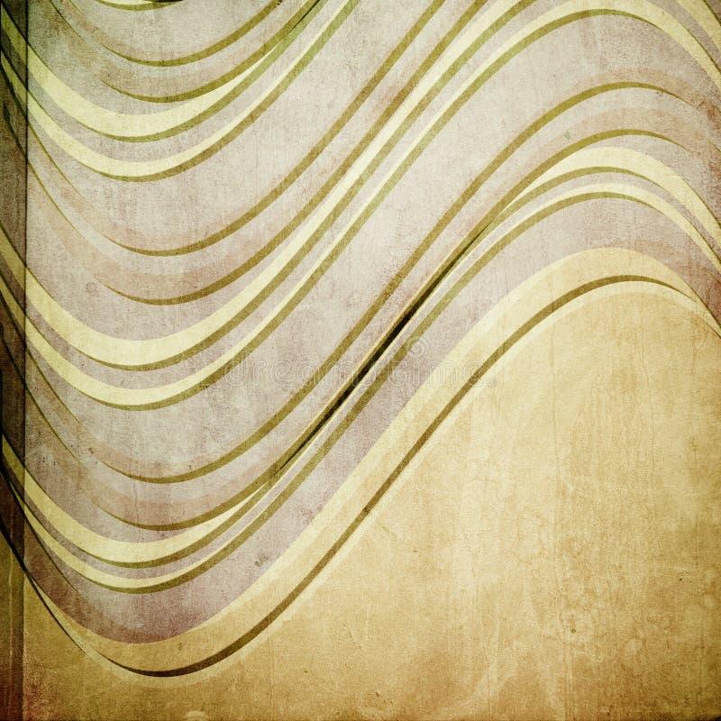 Textura de papel de Grunge, fondo de la vendimia stock de ilustración