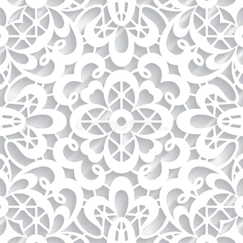 Textura de papel del cordón stock de ilustración
