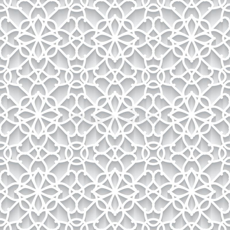 Textura de papel do laço ilustração royalty free