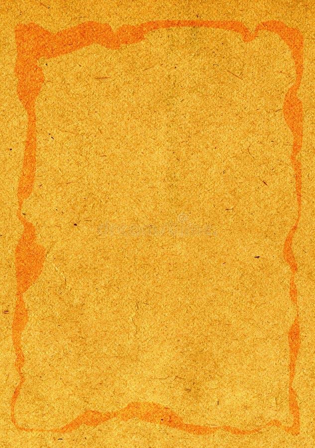 Textura de papel dura real ilustração stock