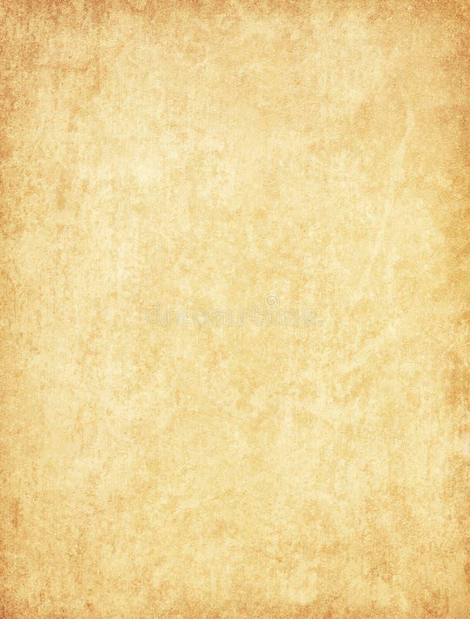 Textura de papel envejecida Fondo del beige del vintage imágenes de archivo libres de regalías