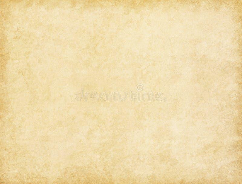 Textura de papel envelhecida Fundo do bege do vintage imagens de stock