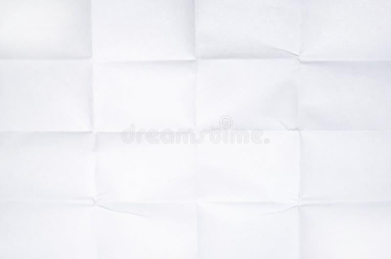 Textura de papel plegable fotos de archivo