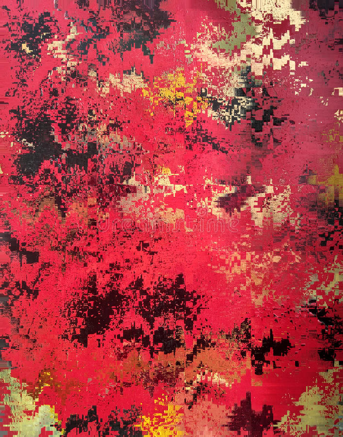 Textura de papel roja abstracta ilustración del vector