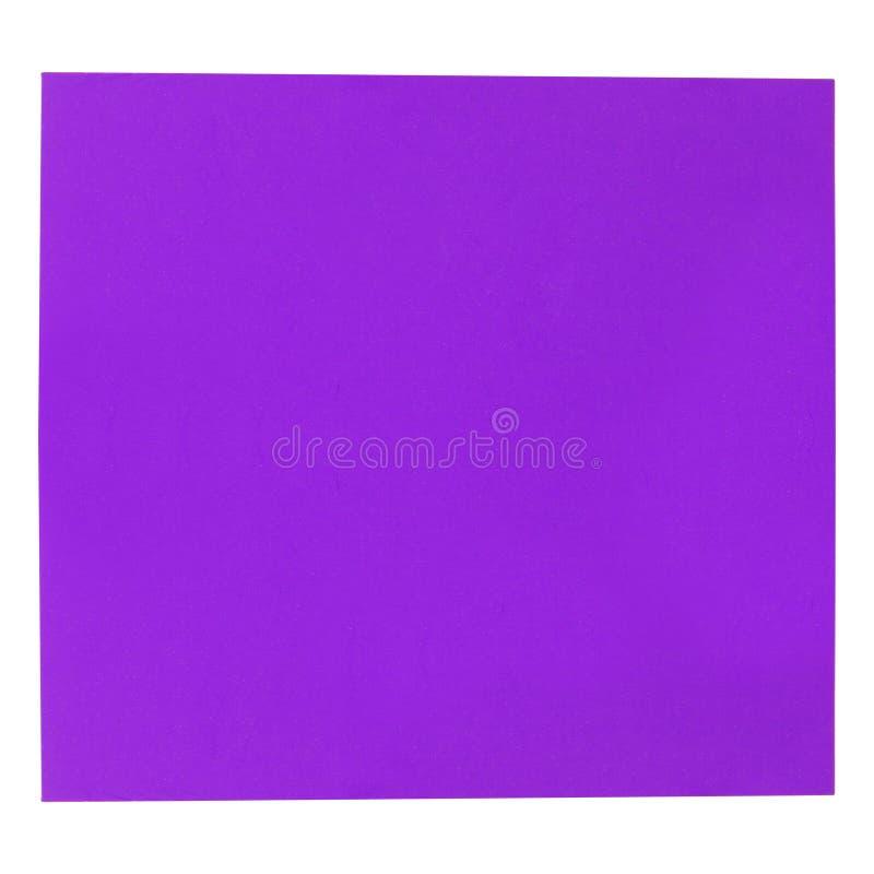 Textura de papel roxa do fundo fotos de stock royalty free
